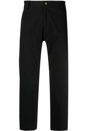 Omc Cropped straight-leg trousers