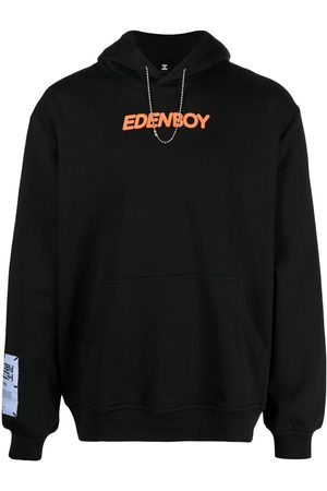 McQ Slogan-print pullover hoodie