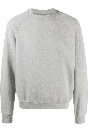 Les Tien Raglan-sleeve cotton sweatshirt - Grey