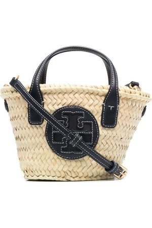 Tory Burch Woven mini tote - Neutrals