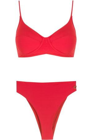 Brigitte Women Bikinis - High-leg bikini set