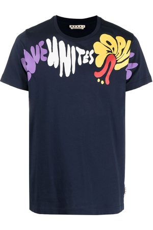 Marni Printed short-sleeve T-shirt