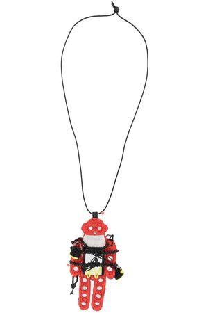 WALTER VAN BEIRENDONCK Beaded hanger necklace