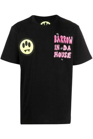 BARROW Graphic-print cotton T-short