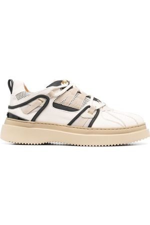 BUSCEMI Panelled low-top sneakers - Neutrals