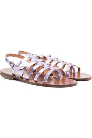 PèPè Sandals - TEEN strappy metallic sandals
