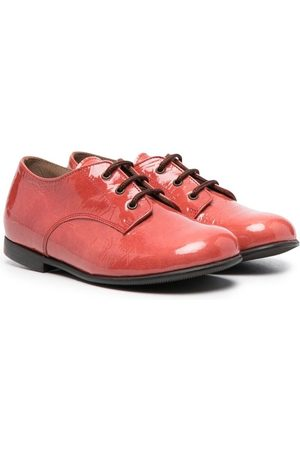 PèPè Girls Ballerinas - Glossy lace-up ballerina shoes