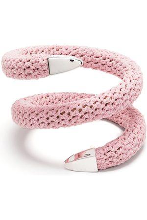 Bottega Veneta Crochet cuff bracelet