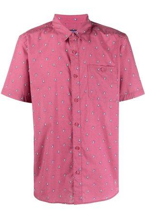 Patagonia Men Short sleeves - Bird-print shortsleeved shirt