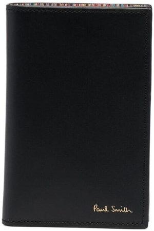 Paul Smith Men Wallets - Artist stripe-print leather cardholder