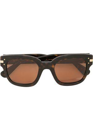 AMIRI Tortoiseshell square-frame sunglasses