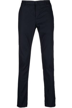 Dondup Men Skinny Pants - Mid-rise slim-fit trousers
