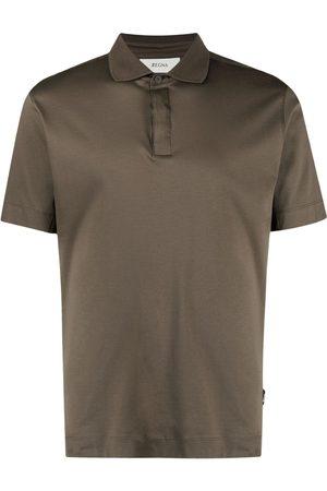 Z Zegna Short-sleeve cotton polo shirt