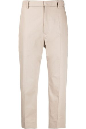 SOFIE D'HOORE Women Straight Leg Pants - Cropped high-waisted trousers - Neutrals