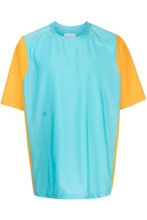 Fumito Ganryu Colour-block crewneck T-shirt