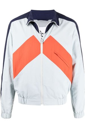 Kenzo Sport panelled windbreaker jacket - Grey