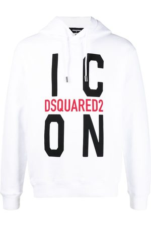 Dsquared2 Logo-print drawstring hoodie