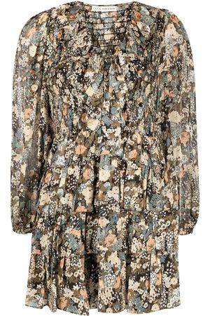ULLA JOHNSON Women Dresses - Tarama silk-blend dress