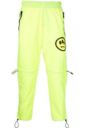 BARROW Smiley-motif track pants