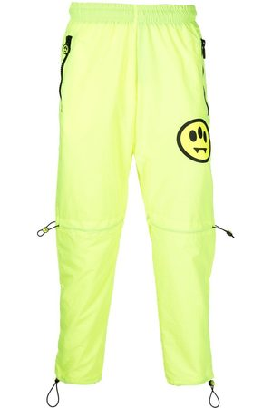 BARROW Sweatpants - Smiley-motif track pants