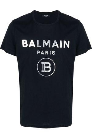 Balmain Men Short Sleeve - Logo-print short-sleeve T-shirt