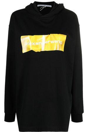 Alexander Wang Logo-print hoodie