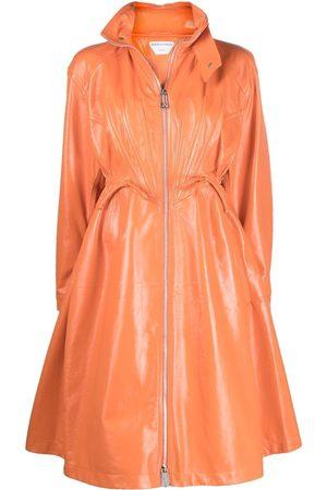 Bottega Veneta Women Parkas - Flared parka coat