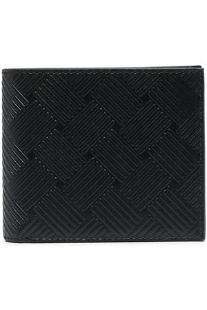 Bottega Veneta Embossed motif bi-fold wallet