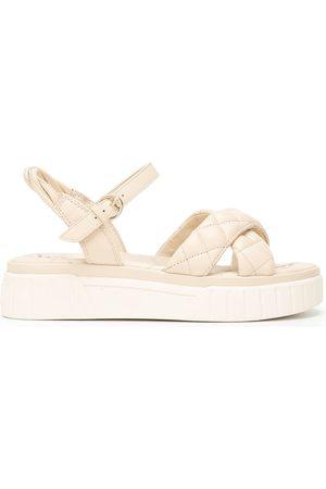 Sam Edelman Gavril quilted sandals - Neutrals