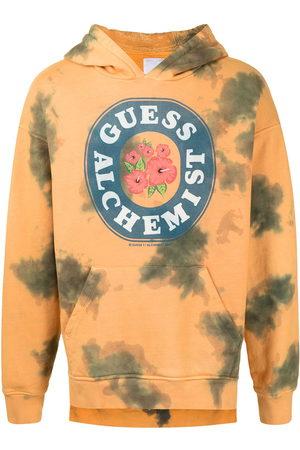 Alchemist Men Hoodies - Tie-dye cotton hoodie