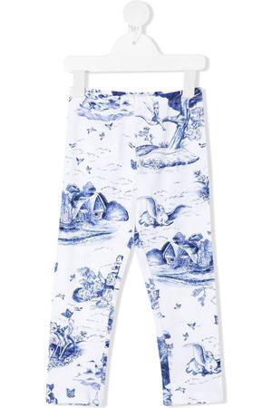 MONNALISA Girls Leggings - Disney-print leggings
