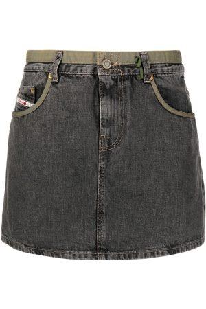 Diesel High-waist denim skirt