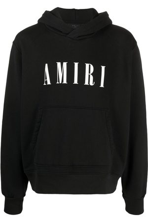 AMIRI Core logo-print cotton hoodie