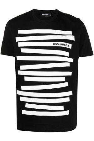Dsquared2 Men T-shirts - Stripe-print T-shirt