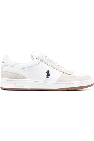 Polo Ralph Lauren Men Sneakers - Court leather suede sneakers