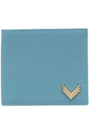 Manokhi Wallets - X Velante logo plaque bi-fold wallet