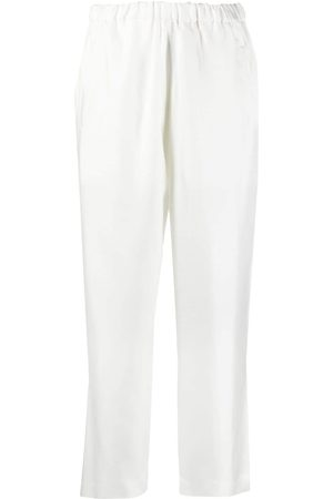 SOFIE D'HOORE Phuket silk cropped trousers