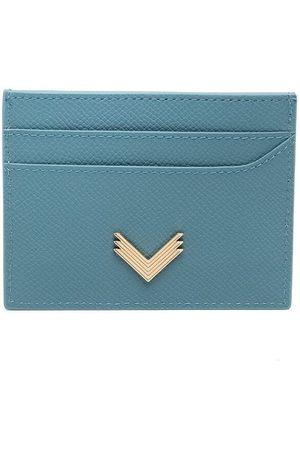 Manokhi X Velante logo plaque cardholder