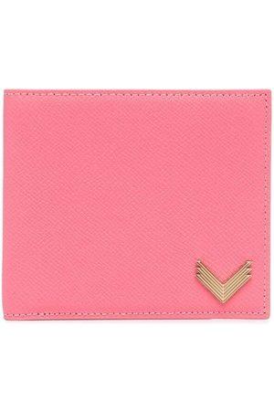 Manokhi Grained-leather billfold wallet