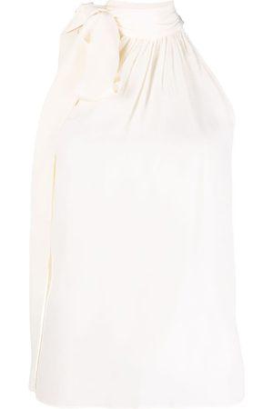 Michael Kors Pussyboy silk blouse - Neutrals