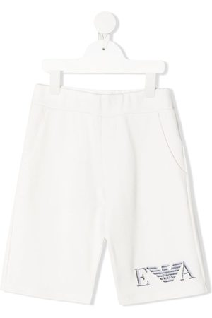 Emporio Armani Logo-embroidered shorts