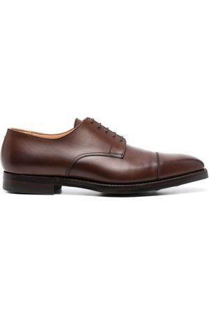Crockett & Jones Smooth leather derby shoes