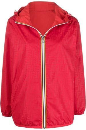 Fendi X K-Way® reversible windbreaker jacket