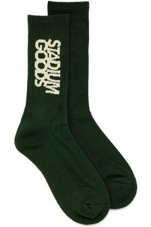 Stadium Goods Embroidered-logo socks