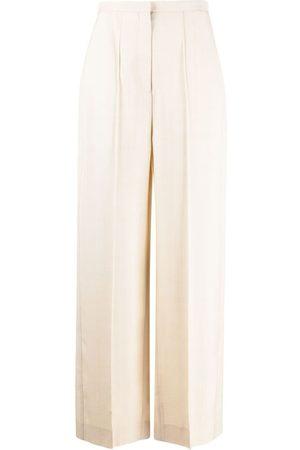Totême Pine high-waisted trousers - Neutrals