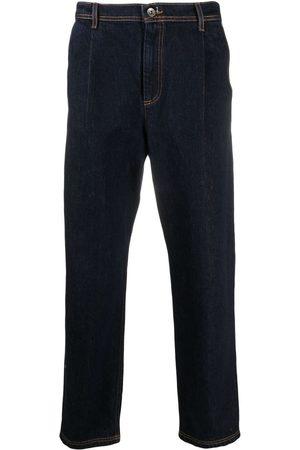 HENRIK VIBSKOV Dark wash straight-leg jeans