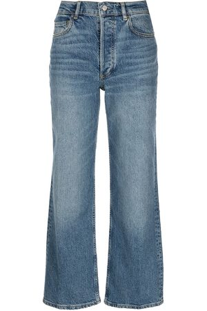 Boyish Jeans Women High Waisted - High-rise cropped jeans