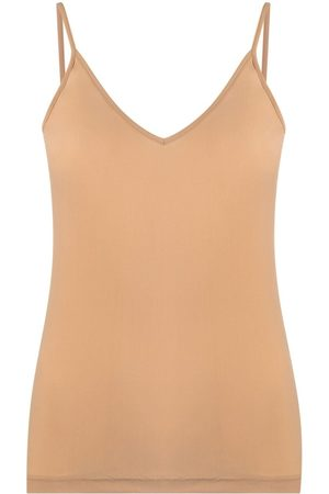 Jil Sander V-neck tank top - Neutrals
