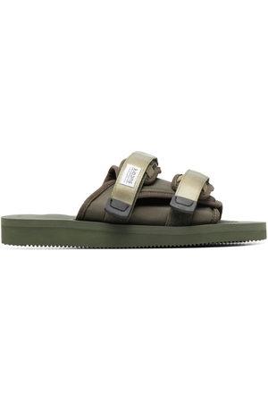 SUICOKE Men Sandals - Double-strap sliders