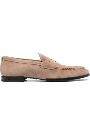 Tod's Suede penny loafers - Neutrals